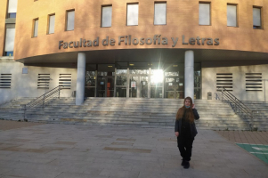 ChNU student is studying at the University of Valladolid under Erasmus + program