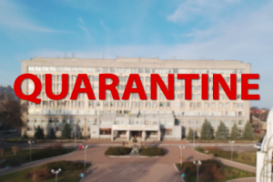 The national quarantine was extended to April, 24